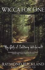 Wicca for One ~ Path of Solitary Witchcraft Book ~ Wiccan Pagan Supply