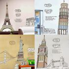 Fashion Sitting Room Bedroom Resteraunt Country Symbol Historical Sites Stickers