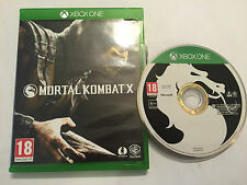 XBOX ONE FIGHT FIGHTING GAME MORTAL KOMBAT X COMPLETE DISC EXCELLENT CONDITION