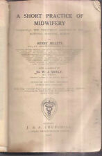 INDIA RARE - A SHORT PRACTICE OF MIDWIFERY HENRY JELLETT 1918 WITH PICTURES