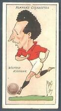 "PLAYERS 1927 FOOTBALL CARICATURES BY ""MAC""- #21-PORT VALE-WILFRED KIRKHAM"