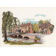 Derwentwater Designs Bourton-On-The-Water Cross Stitch Kit