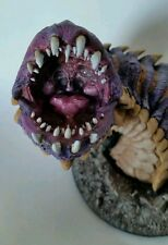 D&D Collector's Series Purple Worm Hand painted Commission HUGE
