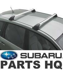 2014-2016 Subaru Forester OEM Fixed Crossbar Set Roof Rack (2.5i model only)