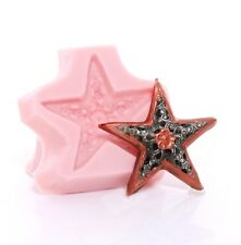Filigree Silicone Star Mold Food Safe Fondant Mint Craft Resin Polymer Clay (554