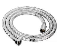 1.2M METRE CHROME SHOWER BATH HOSE FLEXIBLE STAINLESS STEEL REPLACEMENT PIPE NEW