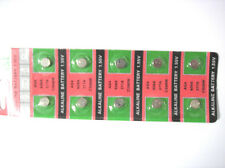 10pcs LR626 SR626 SR626SW AG4 177 377A 1.55V Alkaline Watch Battery