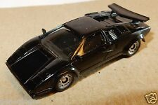 MICRO MINI EXACTS MONOGRAM HO 1/87 LAMBORGHINI COUNTACH NOIRE V12 48 SOUPAPES