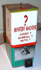 10 cent 70's MYSTERY MACHINE Gumball Vending Gum Ball, Peanut, Candy, Garage