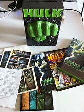 HULK - DELUXE EDITION BOX SET 3 DVD - CASTELLANO ENGLISH  +COMIC+POSTCARD+EXTRAS