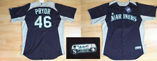 MLB Authentic Baseball Trikot/Jersey SEATTLE MARINERS Pryor #46 GameUsed 52/XXL
