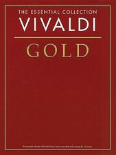 Vivaldi Gold The Essential Collection Sheet Music The Gold Series Book 014012900