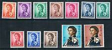 Hong Kong 1962-73 Annigoni set to $2 SG 196/207 MNH