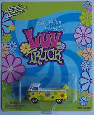 """Johnny Lightning - VW T1 Pritsche """"Luv Truck"""" gelb/weiß mit Surfboards Neu/OVP"""