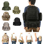 55L 3D Molle Outdoor Military Tactical Backpack Rucksacks Camping Hiking Bags