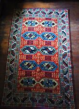 Plus rarement âge mur tapis tricot motif wall carpet tapis art deco style
