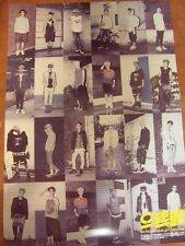 EXO - XOXO 1st Album Repackage GROWL [OFFICIAL] POSTER K-POP *NEW* EXO-K EXO-M