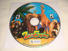 Zoo Empire - PC CD Computer game Disc Only Enlight E 2004