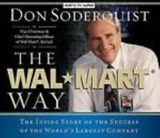 The Wal-Mart Way Story World's Largest Company AUDIO BOOK CD Donald G Soderquist