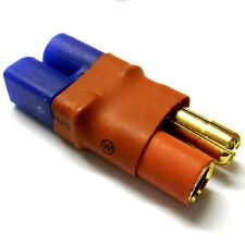 C0083Z RC Connector Male EC3 to 5.5mm Gold Bullet Adapter Adaptor Direct