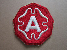 9th Army US Army Woven Cloth Patch Badge