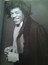 Jimi Hendrix Photo Shoot Always Relaxed 32x24cm Single Page Photo to Frame