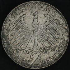 Germany: 2 mark 1958 G