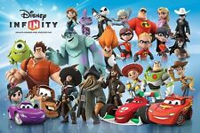 POSTER Disney Infinity-Characters montaggio (game) ca90x60cm NUOVO 58197