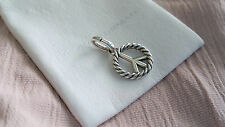 David Yurman Sterling Silver Peace Pendant Enhancer!