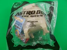 Astro boy Trashcan action figure #2 2009 McDonald's Happy Meal Toys The Movie