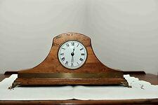 Orologio da Tavolo In Legno Artigianale Numeri Romani Classico Antico 3362