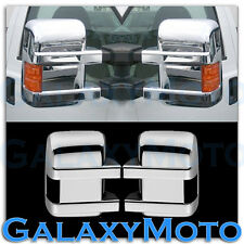 08-16 Ford Super Duty F250+F350+F450+Turn Light Signal Hole Chrome Mirror Cover