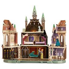 "Disney Store Frozen Arendelle Castle Play Set 20"" H Anna Elsa Hans Kristoff Olaf"