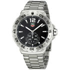 Tag Heuer Formula One Grande Date Black Dial Stainless Steel Mens Watch