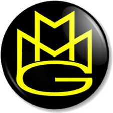 "MMG Maybach Music Group 25mm 1"" Pin Button Badge Rappers Hip Hop Record Label"