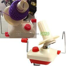 1Pcs Hand Operated Swift Yarn Wool Winder Holder Fiber String Ball Machine New