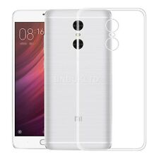 Clear Slim Gel Case and Glass Screen Protector for Xiaomi Redmi Pro 5.5 Inch