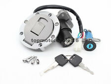 For YAMAHA TZR125 TZM150 TDM850 Ignition Switch Seat Lock Fuel Gas Cap Key Set