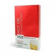 VO5 HOT OIL SHOWER WORKS~ WEEKLY DEEP CONDITIONING TREATMENT~ 2 FLOZ