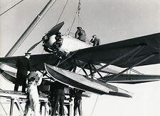 AVIATION c. 1950 - Hydravion en Rade de Casablanca - AV17