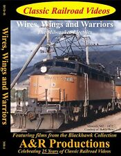 WIRES, WINGS AND WARRIORS CLASSIC RAILROAD VIDEOS DVD