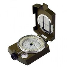 Military Prismatic Sighting Compass w/ Pouch, New, Free Shipping