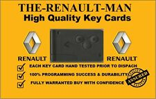 Renault Megane Scenic Clio 3 Button Remote Key Card Highest Quaility Guaranteed!