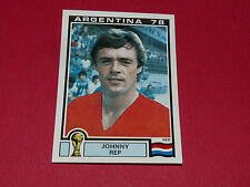 124 JOHNNY REP NED ARGENTINA 78 FOOTBALL PANINI WORLD CUP STORY 1990 SONRIC'S