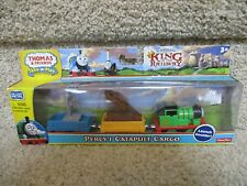 Thomas the Train Wooden Railway NEW Percy's Catapult Cargo King Statue boulder