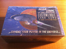 STAR TREK CCG WHITE BORDER PREMIERE FACTORY SEALED BOOSTER BOX