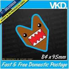 Domo Kun JDM Sticker/Decal - Wakaba Sun Drift Euro Bomb Symbol Vinyl FCK leaf