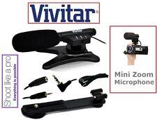 Mini Condenser Pro Microphone For Canon Vixia HF R60 R62 R70 R72 R600 R700