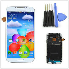Full LCD Display Touch Screen Glass Digitizer &Frame for Samsung Galaxy S4 i9505
