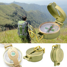 Lensatic Outdoor Military Army Hiking Camping Lens Survival Mini Pocket Compass